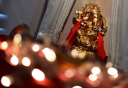 Ganesh Wedding Foyer Display