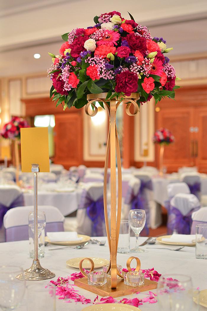 Tall Fresh Flower Centre Piece