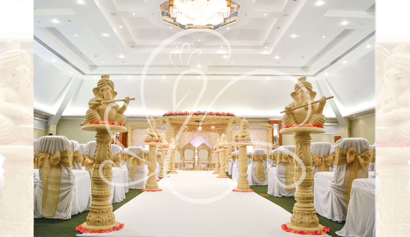 Light-Carved-Mandap