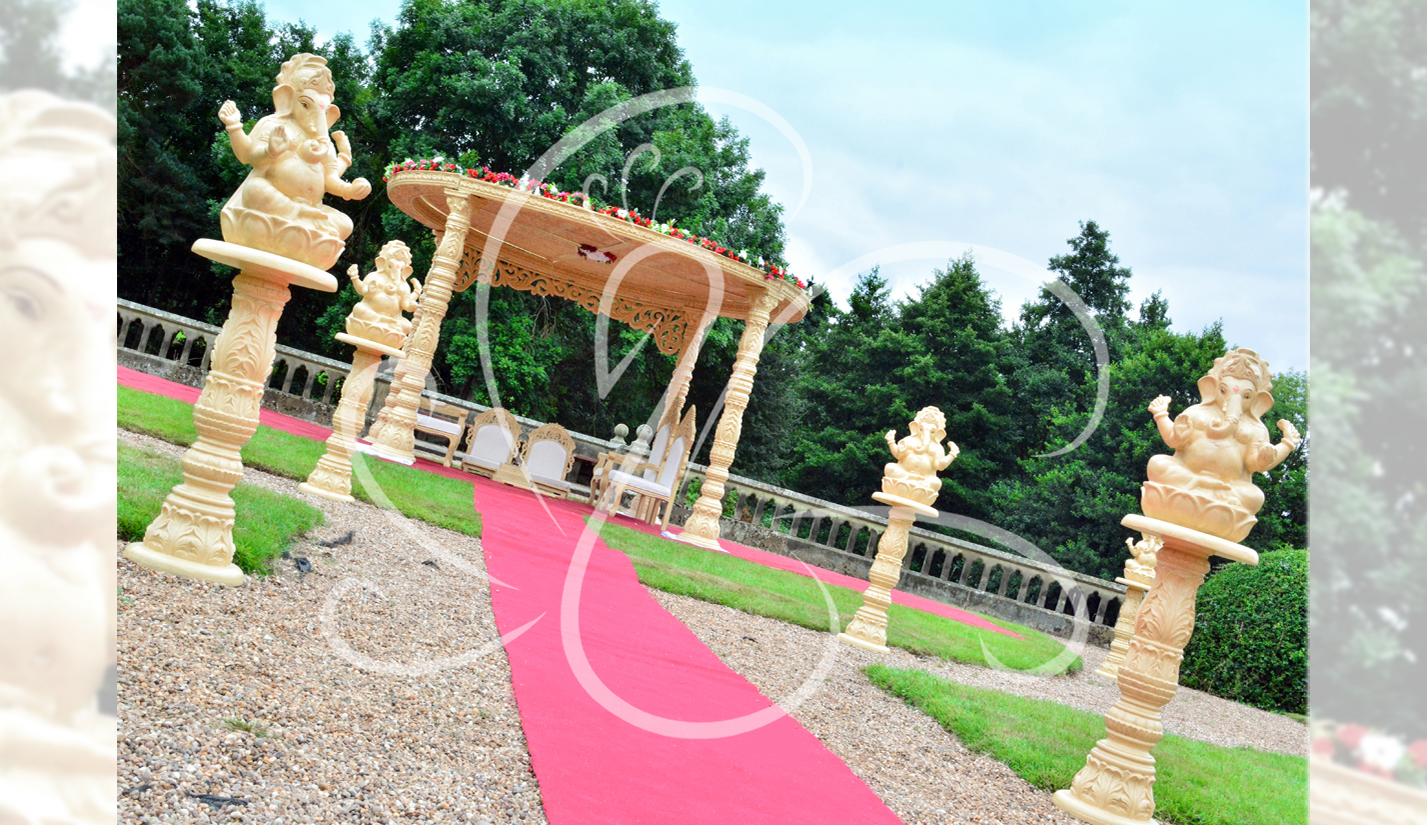 Outdoor-Mandap