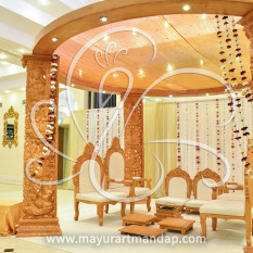 Carved Mandap