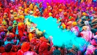 Colourful Mendhi Decor