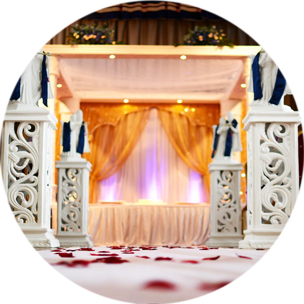 Balaji Stage Decoration