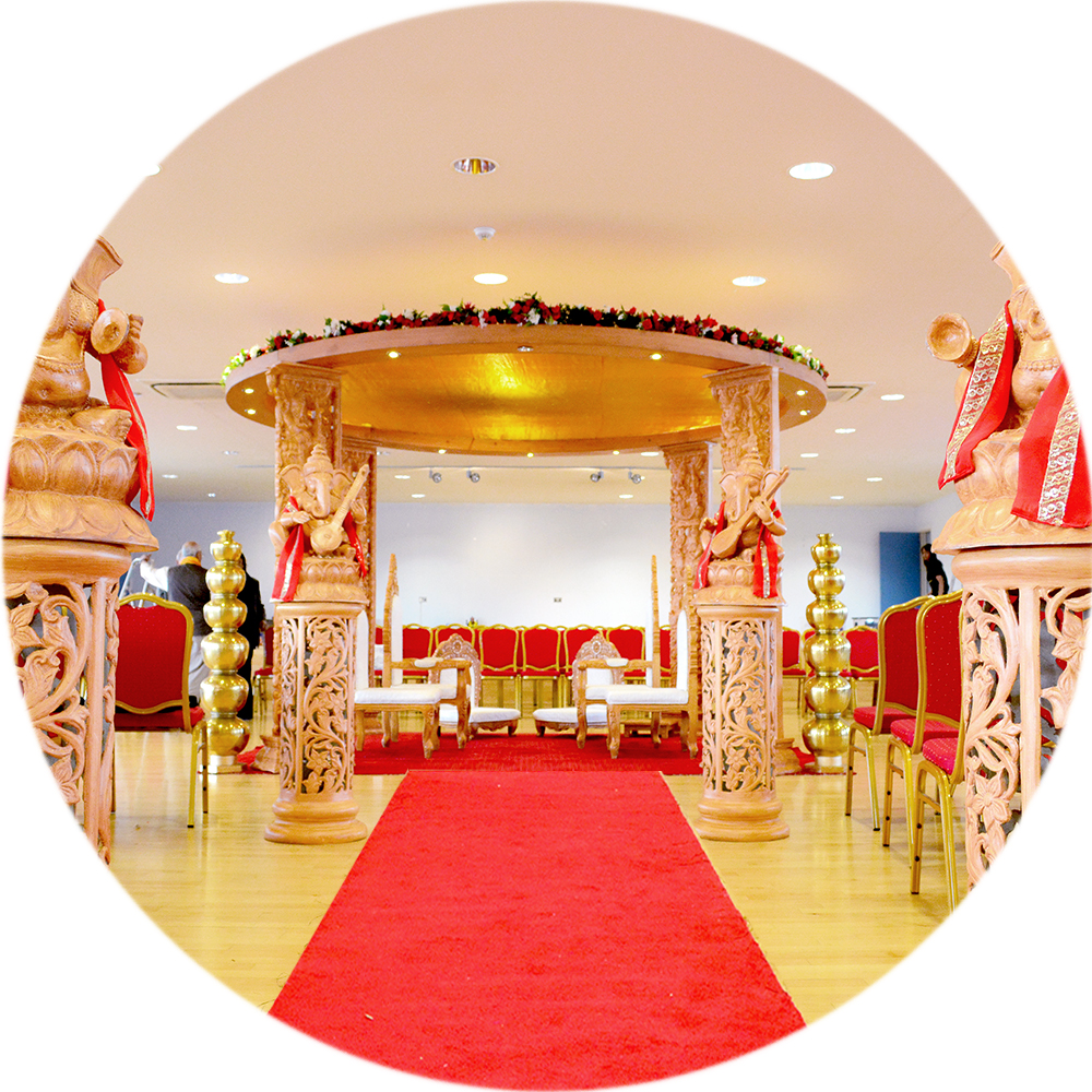 Nagrecha Hall Wedding Decor