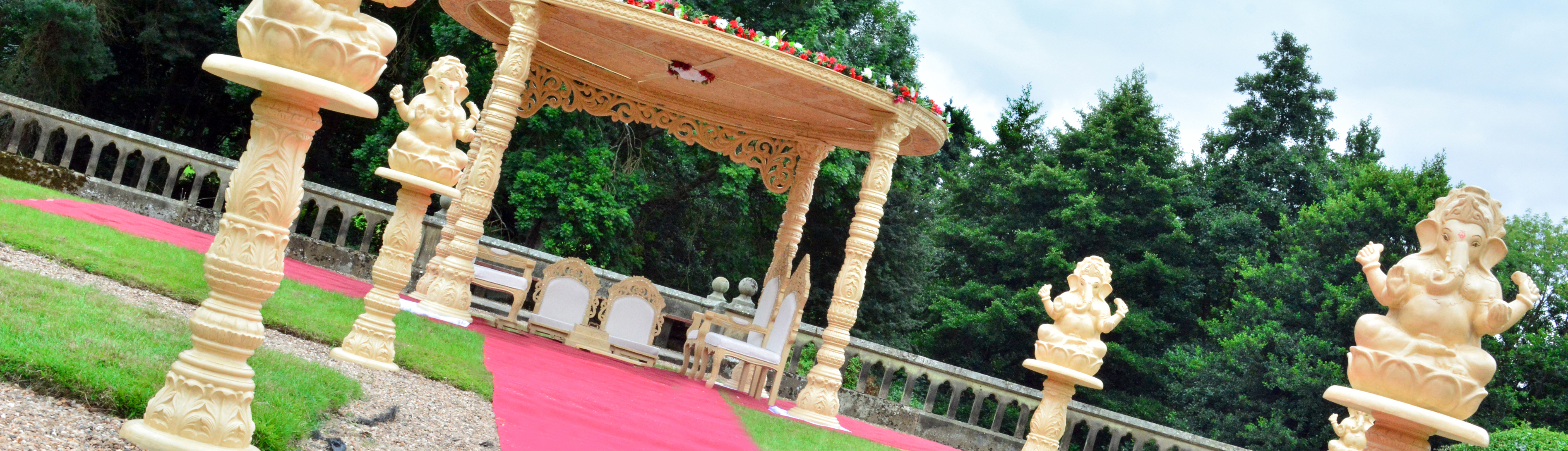 Outdoor Mandap Hire Midlands