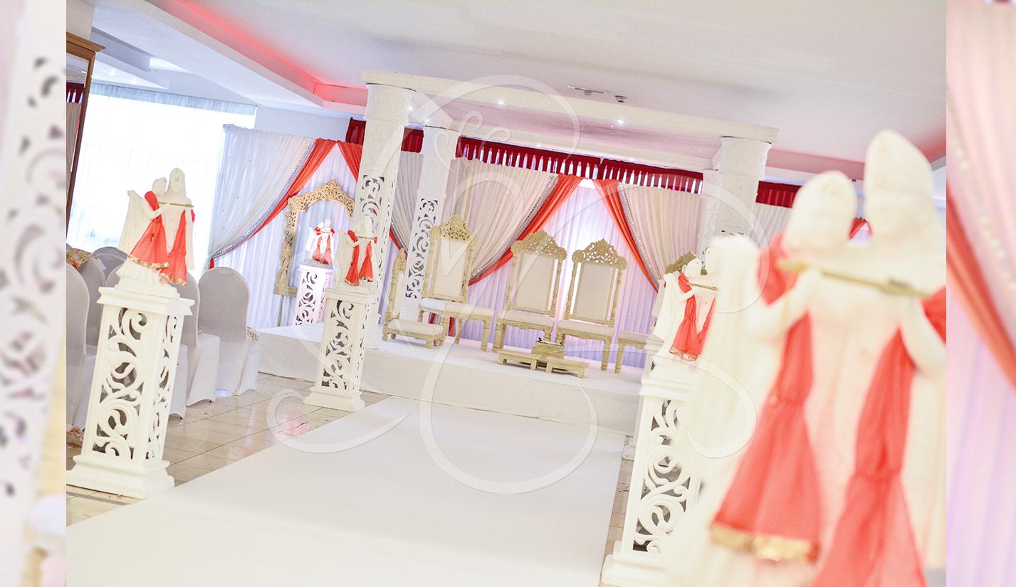 White Princess Mandap Style
