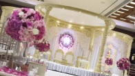 Fresh Flower Mandap Decor