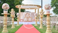 Outdoor Mandap set up