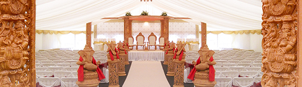 Carved Mandap Hire