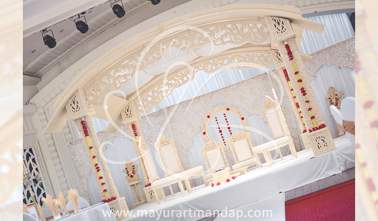 Unique Mandap Design set up