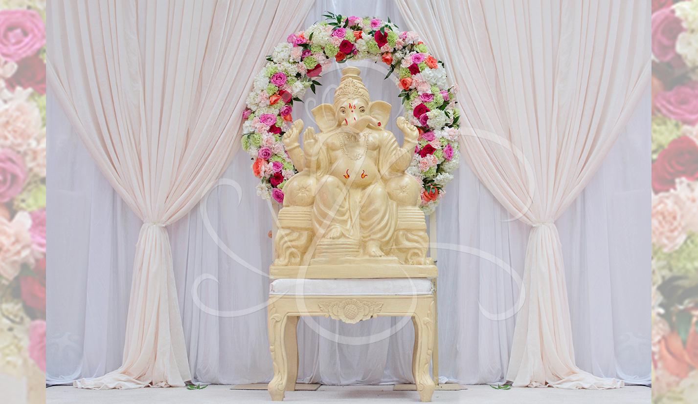 Carved Ganesh Statue Foyer Ramada