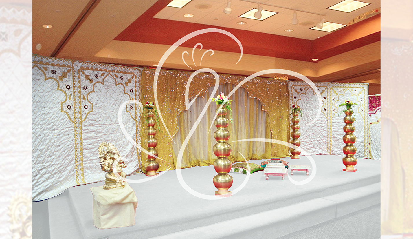 Open Mandap Set up