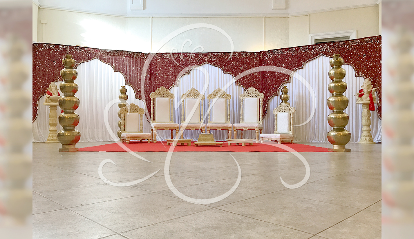 Hindu Engagement Decor